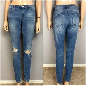 Blank NYC The Reade Distressed Skinny Jeans